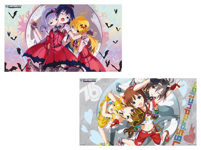 48615アイドルマスター デラックスクリアポスター~生っすか!コレクション~vol.1