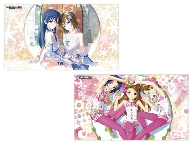 48756アイドルマスター デラックスクリアポスター~生っすか!コレクション~vol.2