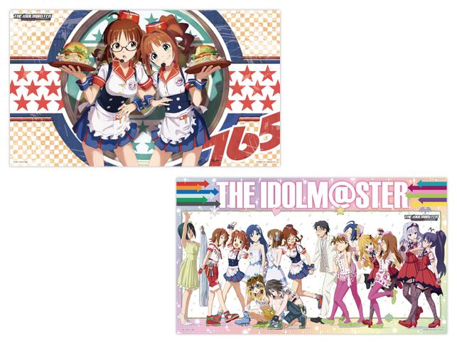 48766アイドルマスター デラックスクリアポスター~生っすか!コレクション~vol.3