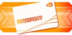 バナパスポートカード