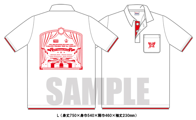 sample ポロシャツ「Sunshine-Theater」Ver